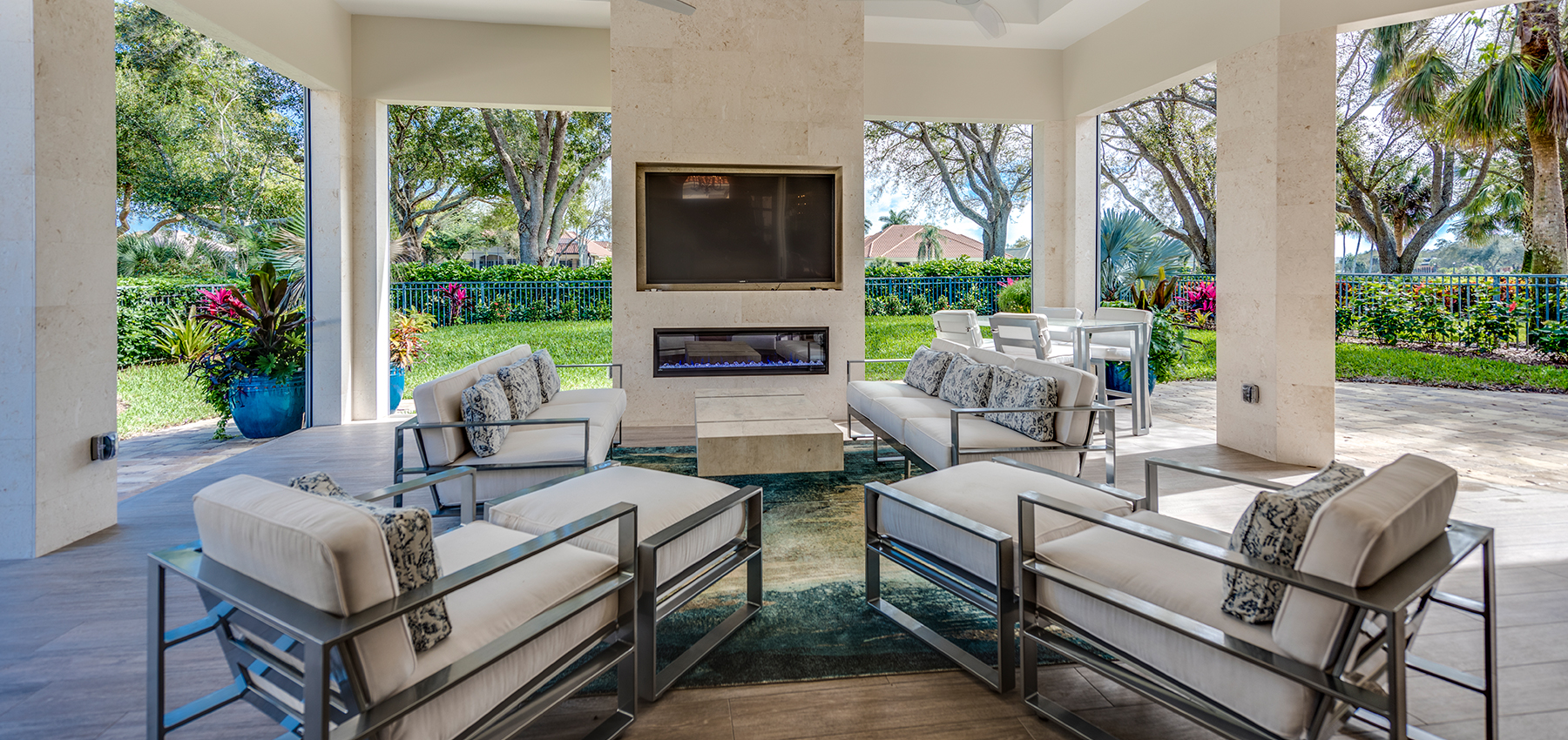 OUTDOOR LIVING REMODEL IN NAPLES, FLORIDA