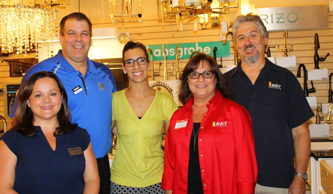 """KGT Remodeling hosted a free """"Wine and Design"""" event"""